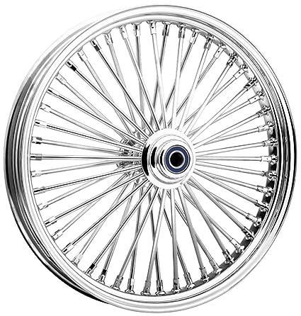 Amazon Com Ride Wright Wheels Inc Omega Chrome 50 Spoke 21x3 5