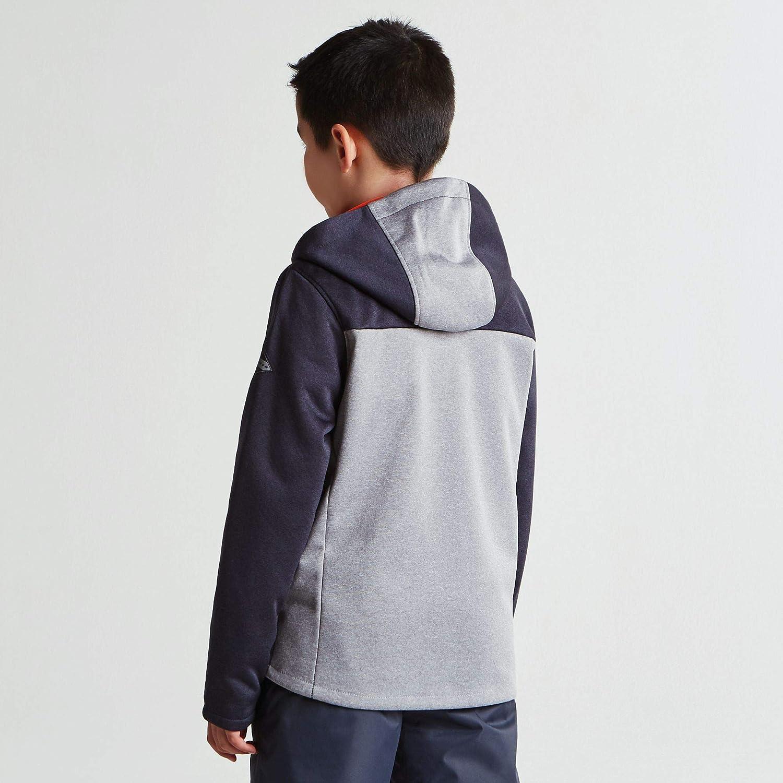 Dare 2B Embed Kids Shell Hooded Fleece Morbido Pile Bambino