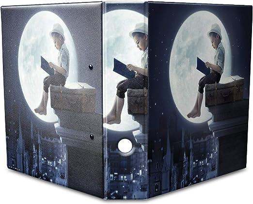Archivador A4 Carpeta 2 anillas 60mm impreso Cuento infantil: Amazon.es: Hogar