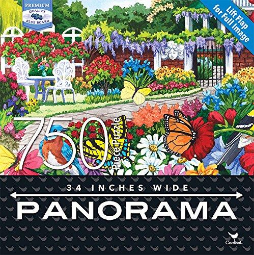 (Cardinal Industries  Premium Panorama Glorious Garden Puzzle (750 Piece))