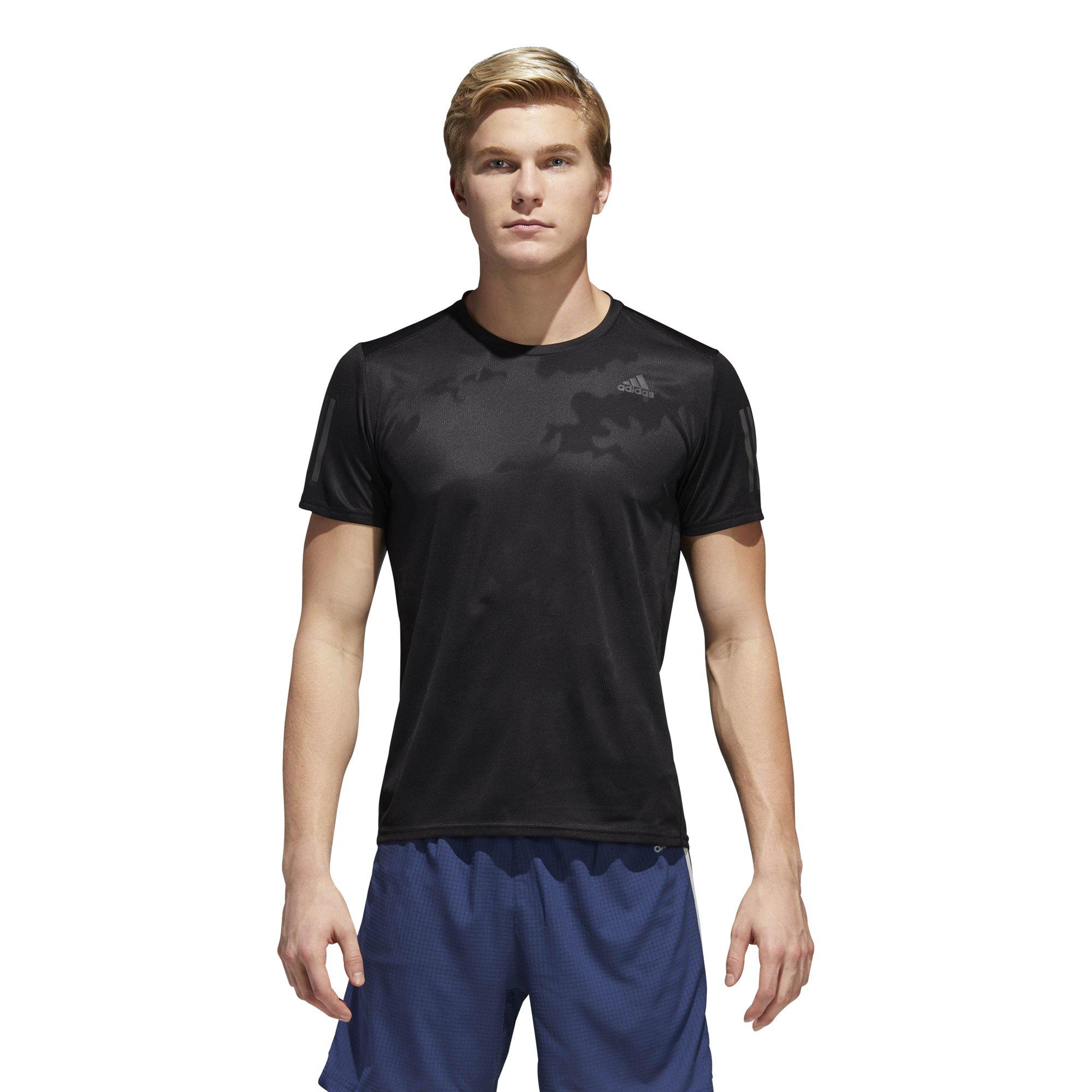 adidas Men's Running Response Short Sleeve