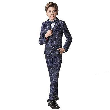 amazon com yuanlu lightweight style boys tuxedo suits with blazer