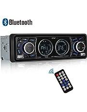 Autoradio Bluetooth Coche, ieGeek Autoradio Bluetooth Manos Libres, USB/SD/AUX/