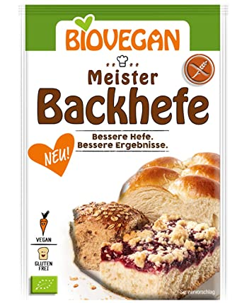 Levadura orgánica extra fuerte Levadura Master Yeast 7g Biovegan ...