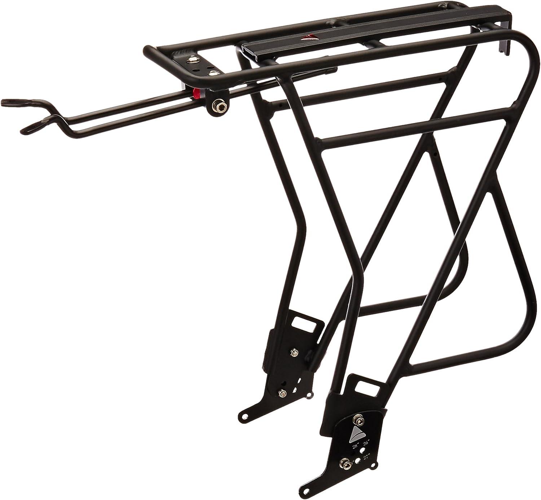 "Axiom Journey Uni-Fit MK3 Standard//Disc Bike Rear Rack Black 26/"" 27.5/"" 700c 29/"""