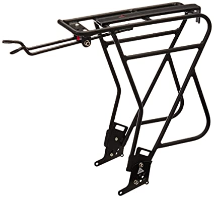 Axiom Mk 3 Alu Journey Uni-Fit Cycle Rear Rack, Black