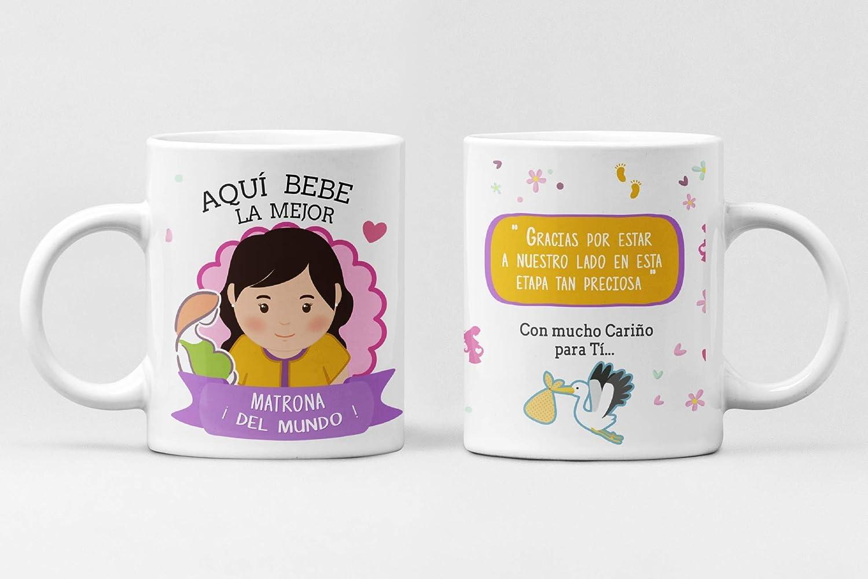Taza Profesiones. Taza de cerámica Aqui Bebe el Mejor. Abogado, administrativo, Arquitecto, Bombero, Cantante, Chef, Contador, diseñador, Doctor, economista. (MATRONA)