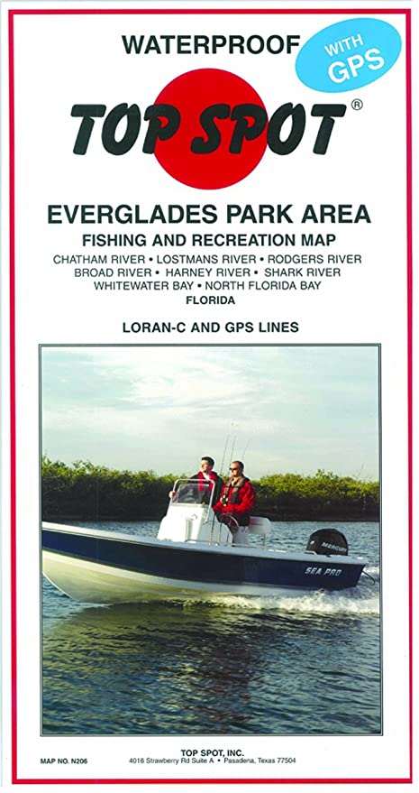 Top Spot Map Everglades Park Chatham River to North FLA Bay Map Of Northern Everglades on map of northern adirondacks, map of northern chesapeake bay, map of northern yellowstone, map of northern pinellas county, map of northern florida towns,