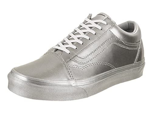 hot sale online be6d4 1ad87 Vans Unisex Old Skool (Metallic Silver) Skate Shoe  Amazon.ca  Shoes    Handbags