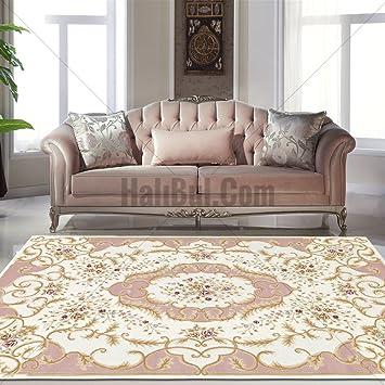 Designer Teppich Moderner Teppich Wollteppich mit Blumenmuster ...