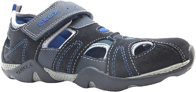 Geox J Aragon C, Chaussures de Piscine et Plage pour garçon