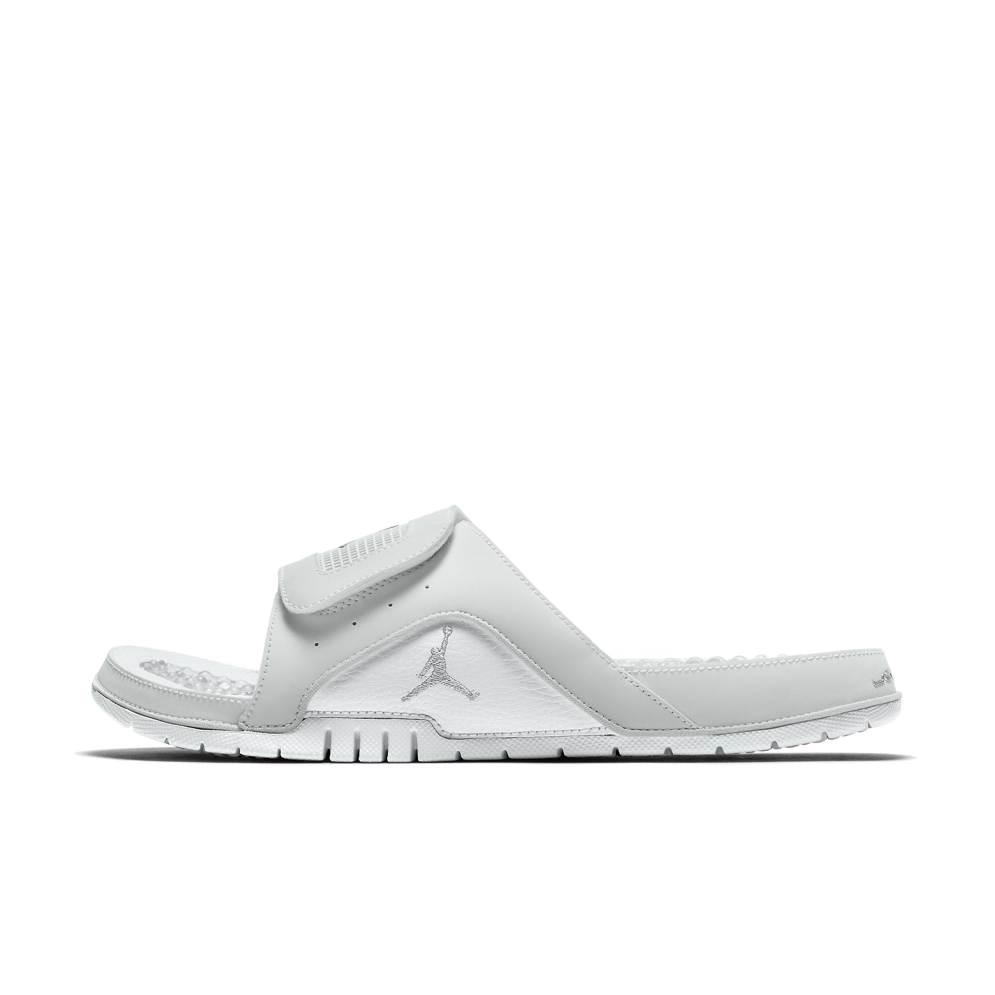 best sneakers e48f5 b9737 The slide also consists of chrome Jordan details for added sophistication.  The Jordan Hydro IV Retro is the perfect slide for any Mans relaxation  needs.