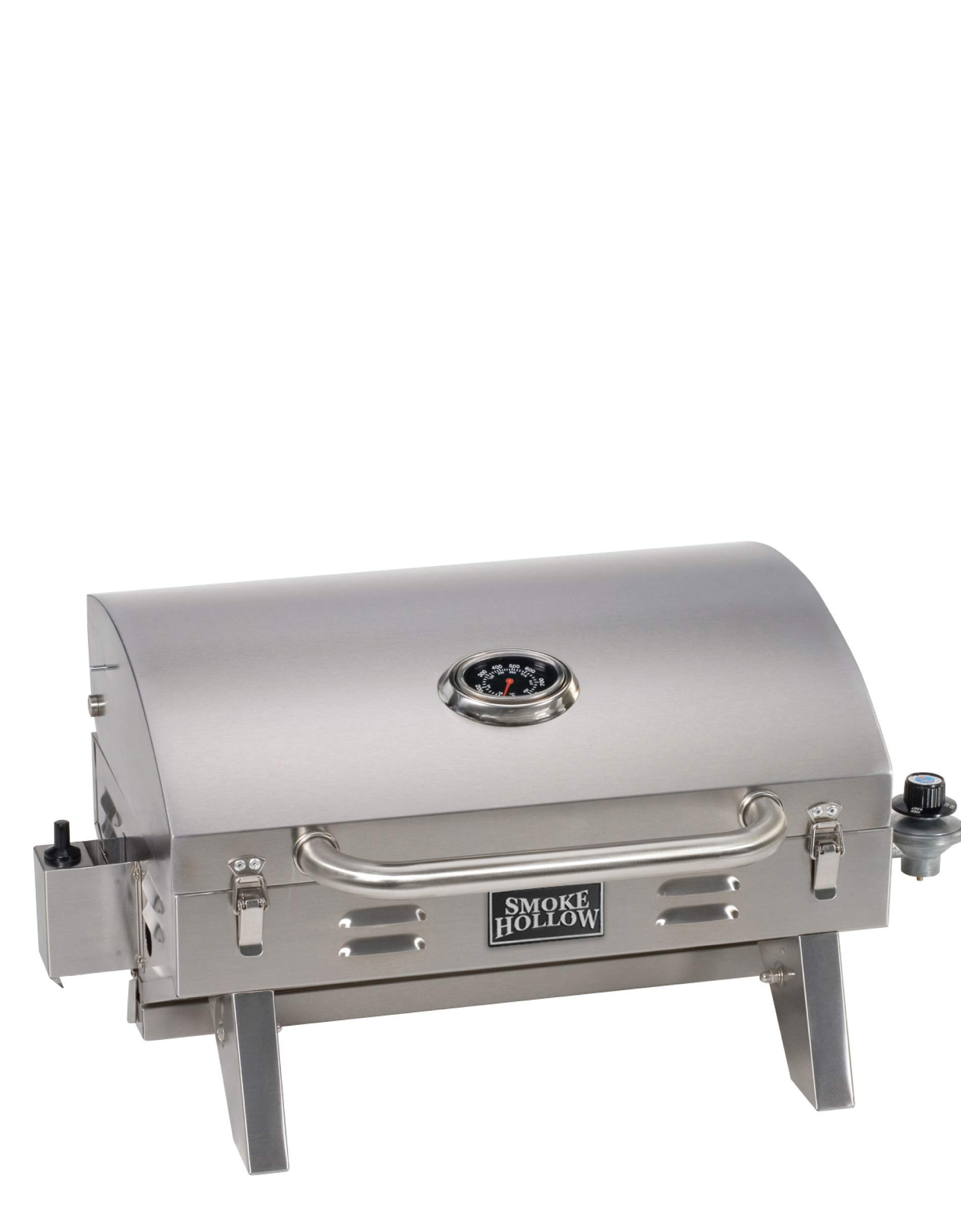 Smoke Hollow SH19030819 PT300B Propane Tabletop Grill, Stainless Steel
