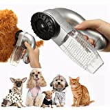 Pet Hair Fur Cleaner Trimmer,Malloom Cat Dog Pet Hair Fur Remover Shedd Grooming Brush Comb Vacuum Cleaner Trimmer