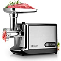 Electric Meat Grinder Powerful Electric Food Meat Grinder, Heavy Duty Multifunction Meat Mincer Sausage Stuffer with…