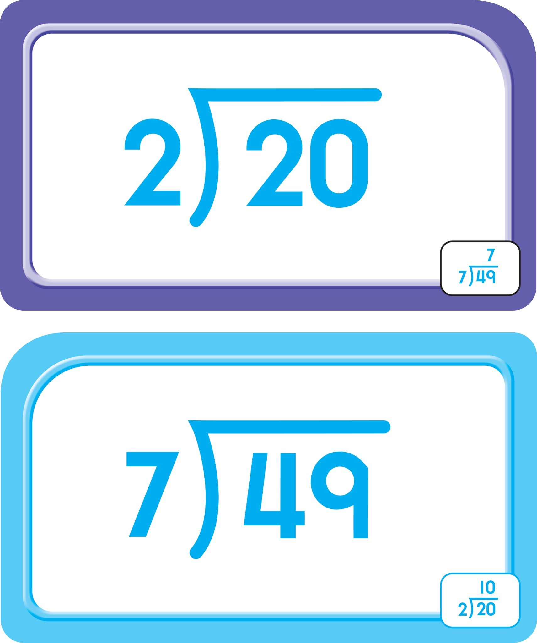 School Zone - Division 0-12 Flash Cards - Ages 9 and Up, Fourth ...