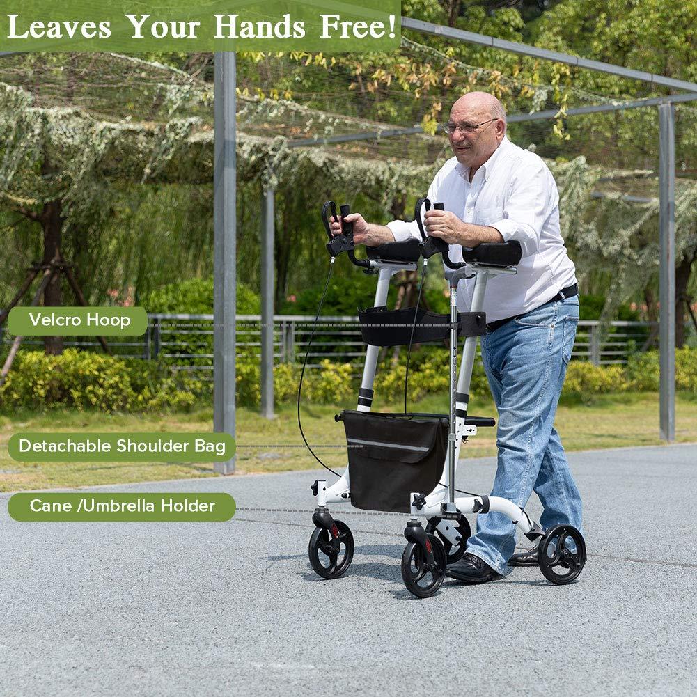 Amazon.com: ELENKER - Andador vertical con reposabrazos ...