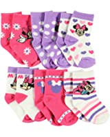 "Minnie Mouse ""Celebrate!"" 6-Pack Crew Socks"