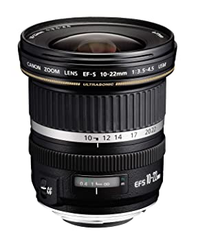 Canon EF-S 10-22mm F/3.5-4.5 USM Zoom Lens for Canon DSLR Camera DSLR Camera Lenses at amazon