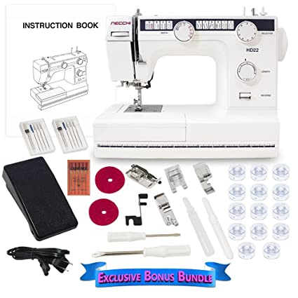 Amazoncom Necchi Hd22 Mechanical Sewing Machine With Exclusive