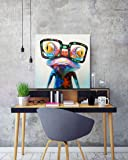 SEVEN WALL ARTS -Happy Frog Painting 100% Hand