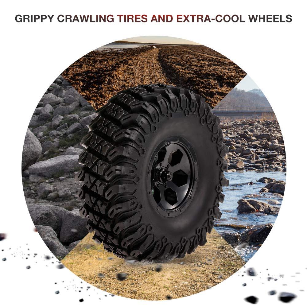 Goolsky RGT 86100 1/10 2.4G 4WD RC Rock Crawler Todoterreno Monster Truck Escalada Coche Kids Toy para niños: Amazon.es: Juguetes y juegos