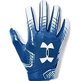 Under Armour boys F6 Youth Football Gloves Royal