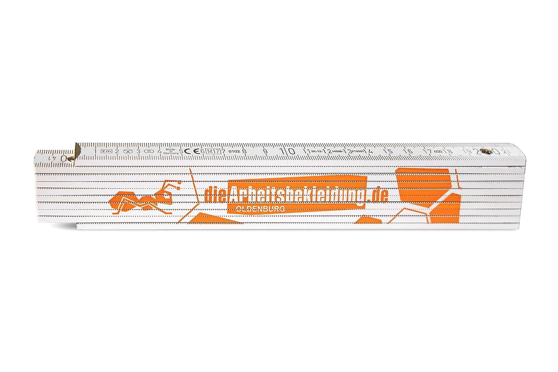 Zollstock Holzgliederma/ßstab mit 90/° Grad-Winkel Rotbuchenholz