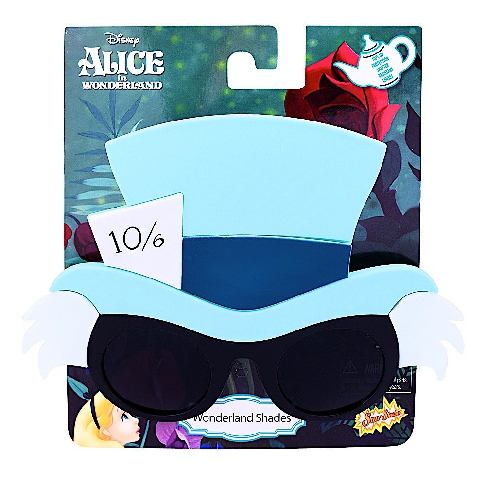 870a670def28 Sunstaches Disney s Alice in Wonderland Mad Hatter Character Sunglasses