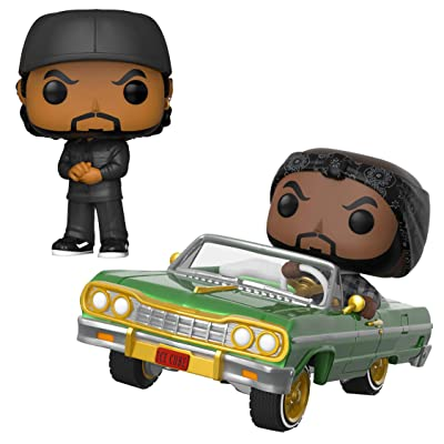 Funko Rocks : POP! Ice Cube Collectors Set - Ice Cube, Ice Cube in Impala: Toys & Games