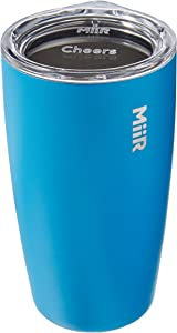 MiiR Insulated Tumbler with Press-on Lid for Coffee, Tea and Car Cup Holder Compatible