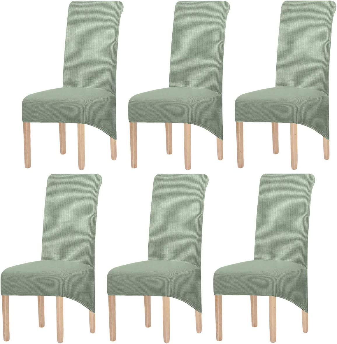 KELUINA XL Dining Manufacturer regenerated product Chair Covers Set of 2 Removable Wa 4 Stretch Sale special price 6