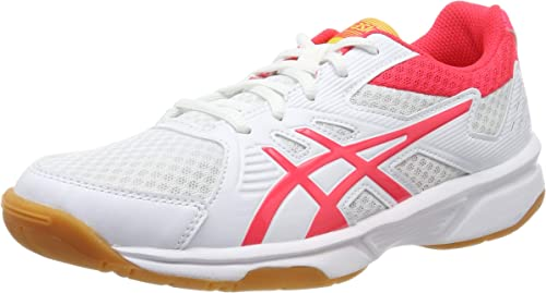 Black Sports Squash Breathable Lightweight Asics Mens Upcourt 3 Court Shoes