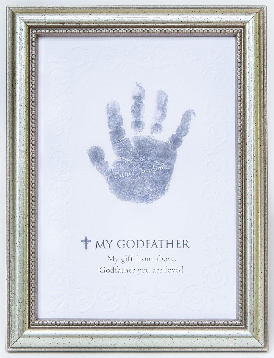 The Grandparent Gift Frame Wall Decor, Godfather Handprint The Grandparent Gift Co. 5091