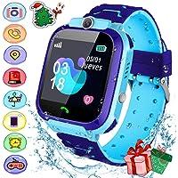 Smartwatch para niños, Reloj Inteligente para Niños, IP67 Smartwatch niños con Pantalla Tácil de 1.44 Pulgadas, Anti-pérdida, Hacer Llamada, Chat de Voz,Cámara, Modo de Clase, Juegos, etc. La mejor opción para regalos de niños(2020 Nueva Versión)