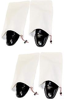 f6c92aef617e Amazon.com: Adorox Set of 6 Nylon Portable Travel Drawstring Shoe ...