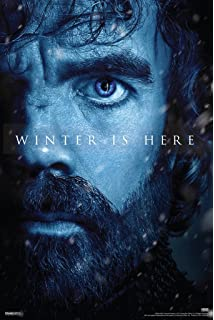 Pyramid America Game Of Thrones Season 7 Tyrion Lannister Winter Is Here TV Show Poster 12x18