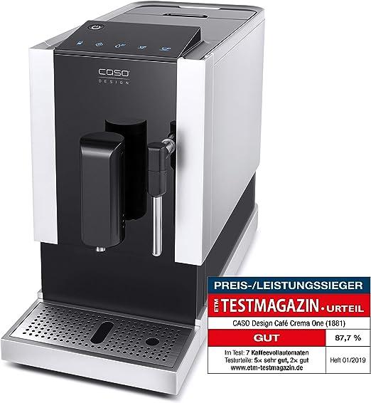CASO Café Crema One – Cafetera automática de diseño, innovador ...