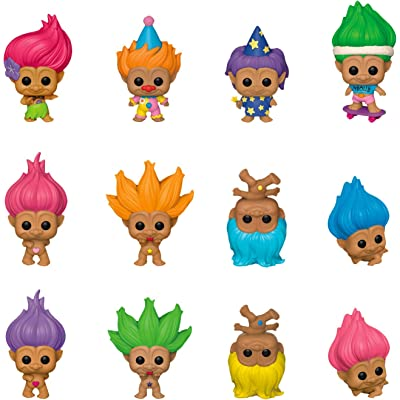 Funko Good Luck Trolls Mystery Minis Blind Box Mini Figure: Toys & Games