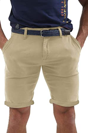 9e00d5124efc AFS Mens Chino Shorts Belted Half Pant Cargo Combat Jeans Pant with Free  Belt: Amazon.co.uk: Clothing