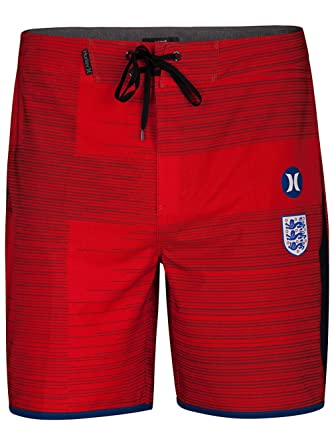 1666edae82 Hurley Phantom England National Team 18in Boardshorts 30 inch Challenge Red