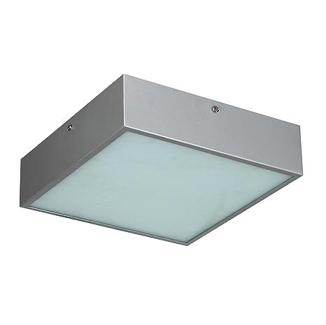 S`luce V28012/1C30 Curb - Lámpara de techo cuadrada (2 ...