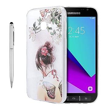 meet 9d602 c87b9 Galaxy Xcover 4 Case, Fraelc Samsung Xcover 4 Flexible: Amazon.co.uk ...