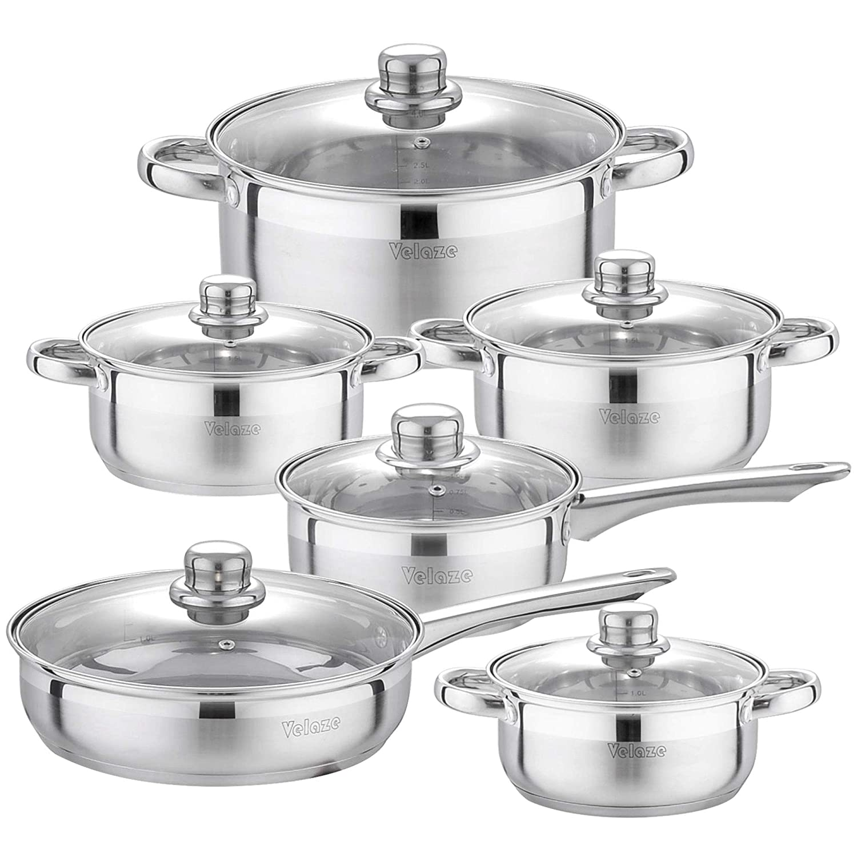 Amazon.com: Juego de utensilios de cocina de acero ...