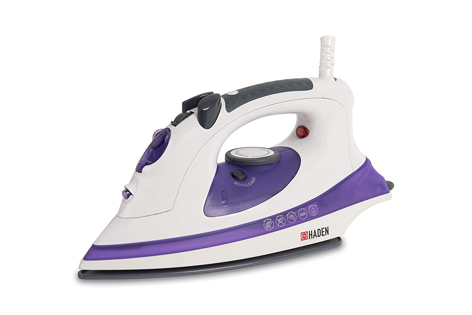 Haden 182739 Power Glide Pro Iron, 2400 W, Purple