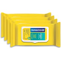 Preparation H Medicated Hemorrhoidal Wipes for Cleansing, Burning, Itch and Irritation Relief, 4 packs of 48 count, 192 count, Multi (305730556989)