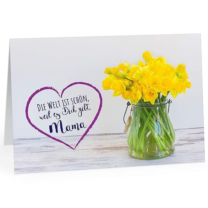 Grandes XXL (DIN A4) tarjeta para el Día de la Madre con ...