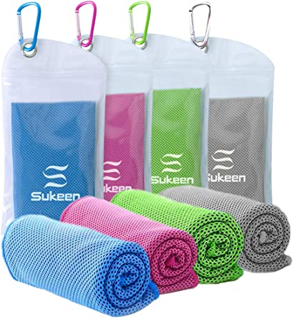 ghfcffdghrdshdfh Two-Tone Ice Towel Sports Travel Camping Cold Towels with Cool Cooling Effect