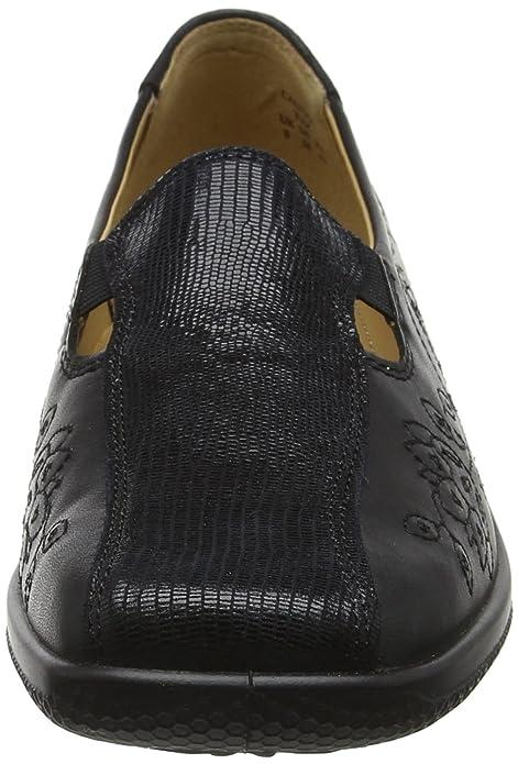 Hotter CLYPXE - Zapatos de tacón con Punta Cerrada de Cuero Mujer, Color Negro, Talla 38: Amazon.es: Zapatos y complementos