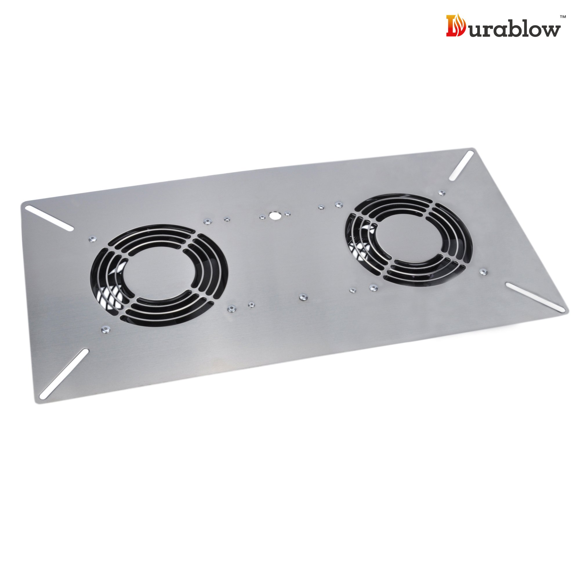 Durablow Stainless Steel Crawl Space Foundation Dual Fans Ventilator + Built-in Dehumidistat (Stainless Steel 304, M2D) by Durablow (Image #7)